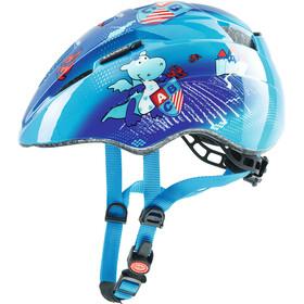 UVEX Kid 2 - Casque de vélo Enfant - bleu/turquoise